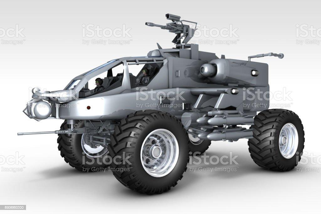 Armored War Truck stock photo