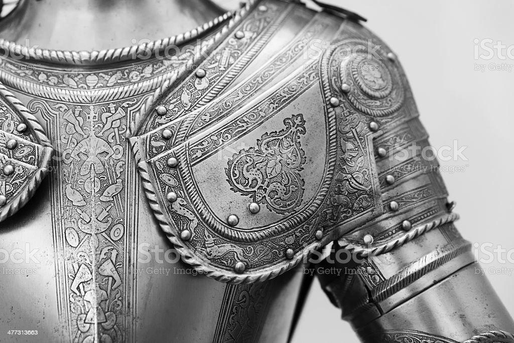 Armour of Prince stock photo