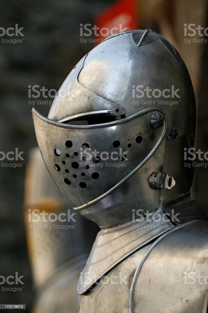 Armour royalty-free stock photo