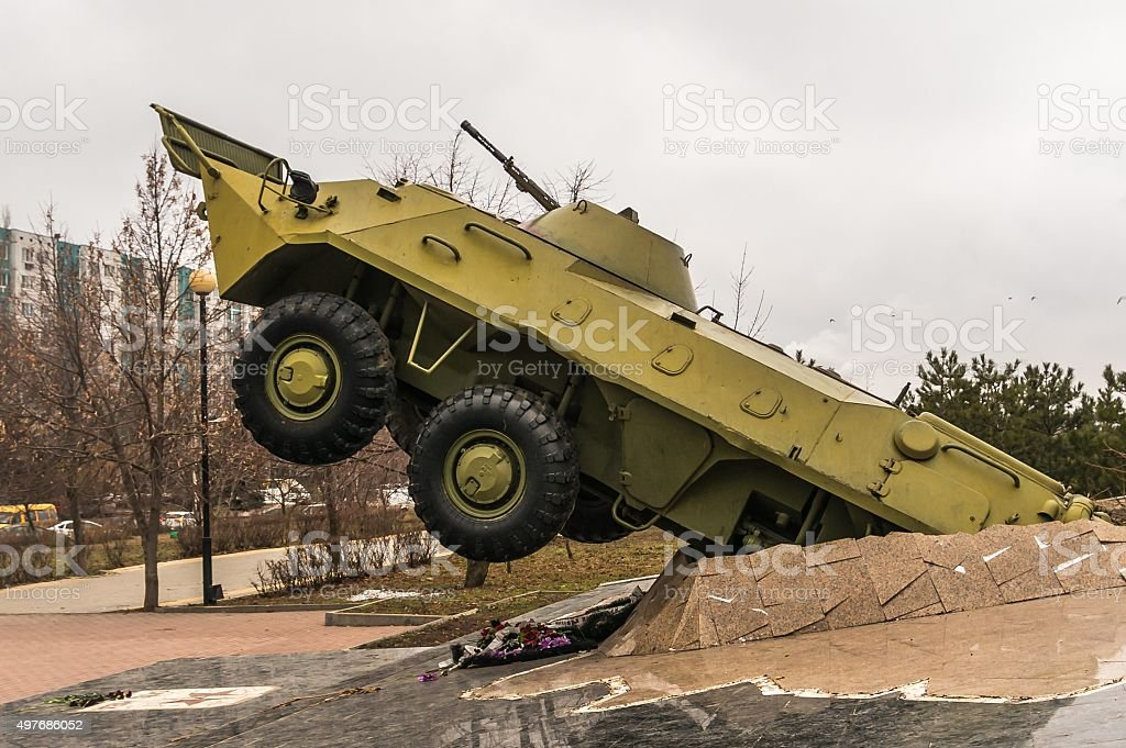 Armoured vehicle stock photo