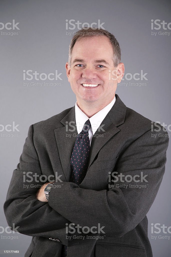 Arms Crossed royalty-free stock photo