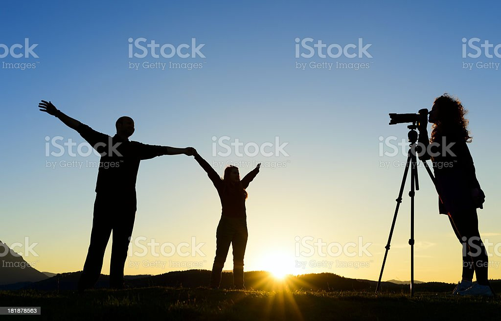 arms raised concept royalty-free stock photo
