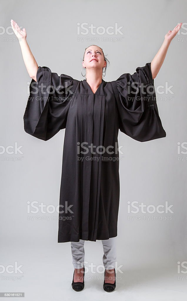 Arms to the heaven stock photo