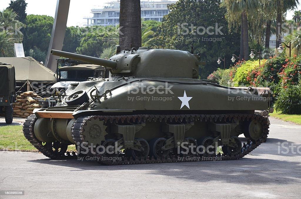 US Army Battle Tank stock photo