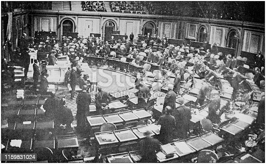 US Army black and white photos: House of Representatives, Washington DC