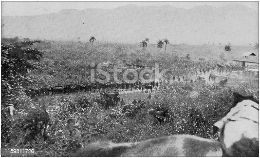 US Army black and white photos: San Juan