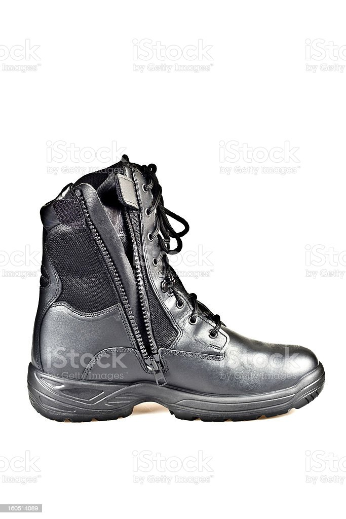 Army Boots royalty-free stock photo
