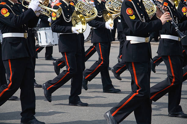 Army brass-band – Foto