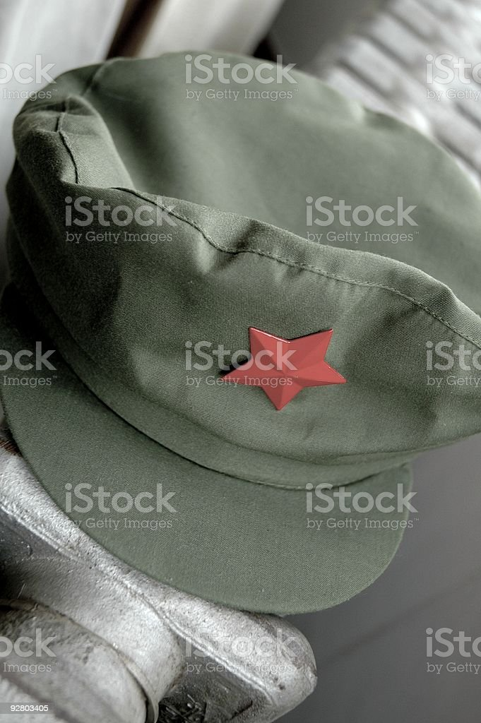 bd23ac5fe4e Pla Army Cap Stock Photo   More Pictures of Army