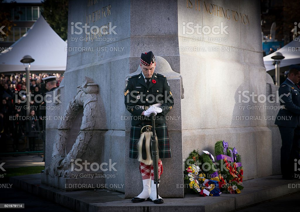 Army Ceremonial Guard stock photo