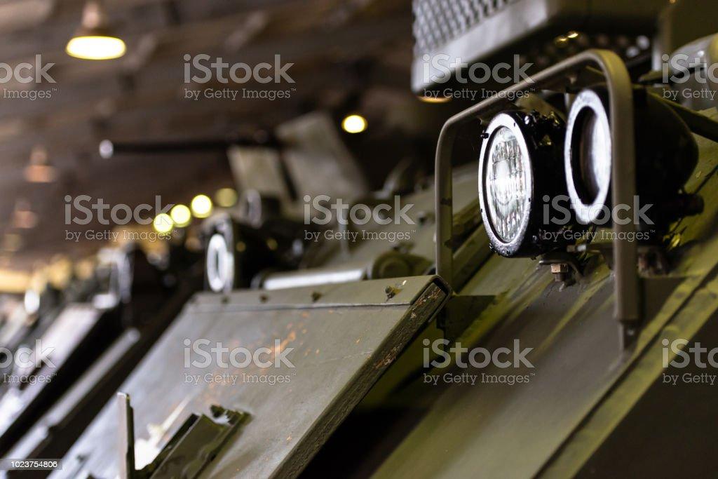 Army equipment. stock photo