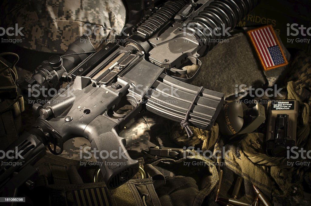 Army Equipment royalty-free stock photo
