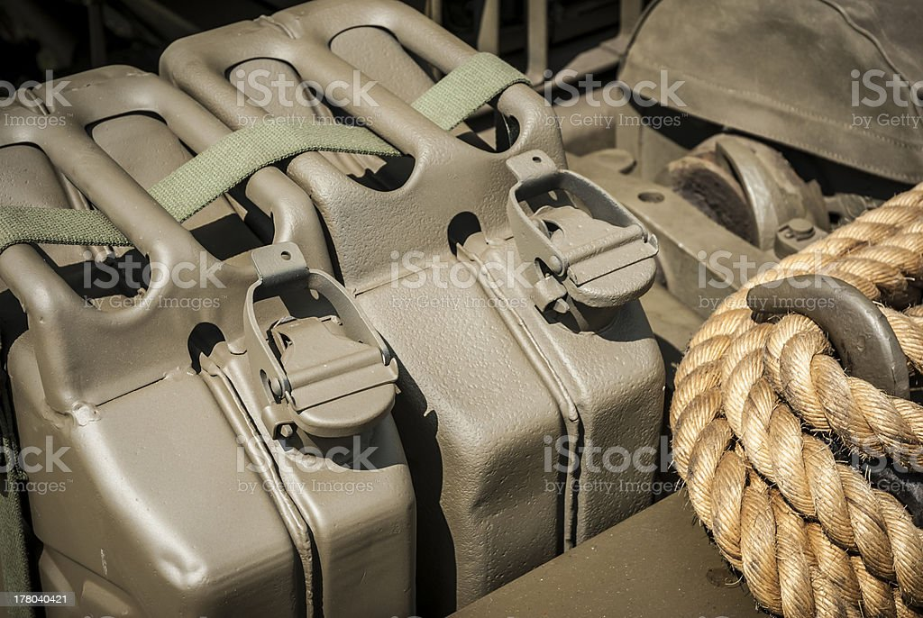 Army Fuel stock photo