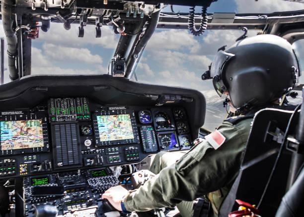 Armee Hubschrauber fahren Hubschrauber – Foto