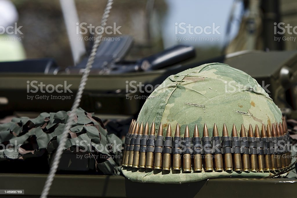 Army Helmet royalty-free stock photo