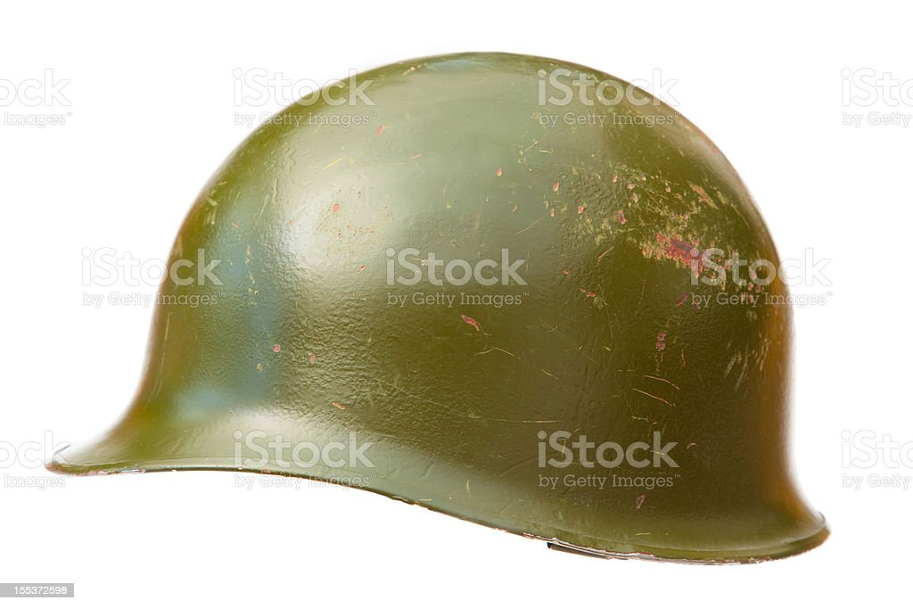 US Army helmet stock photo