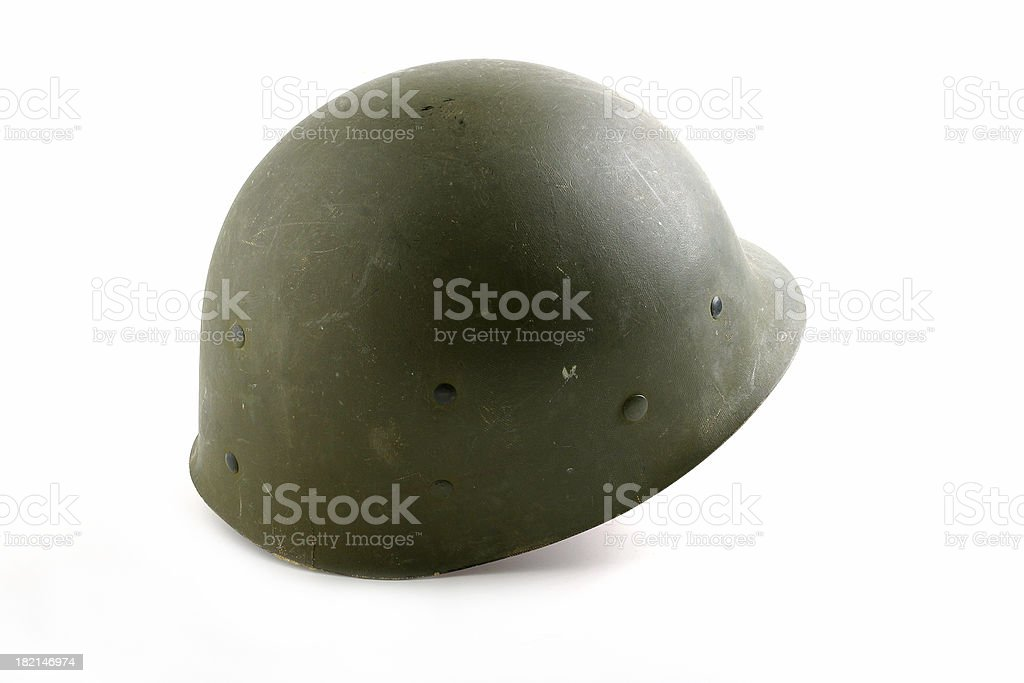 US Army Helmet royalty-free stock photo