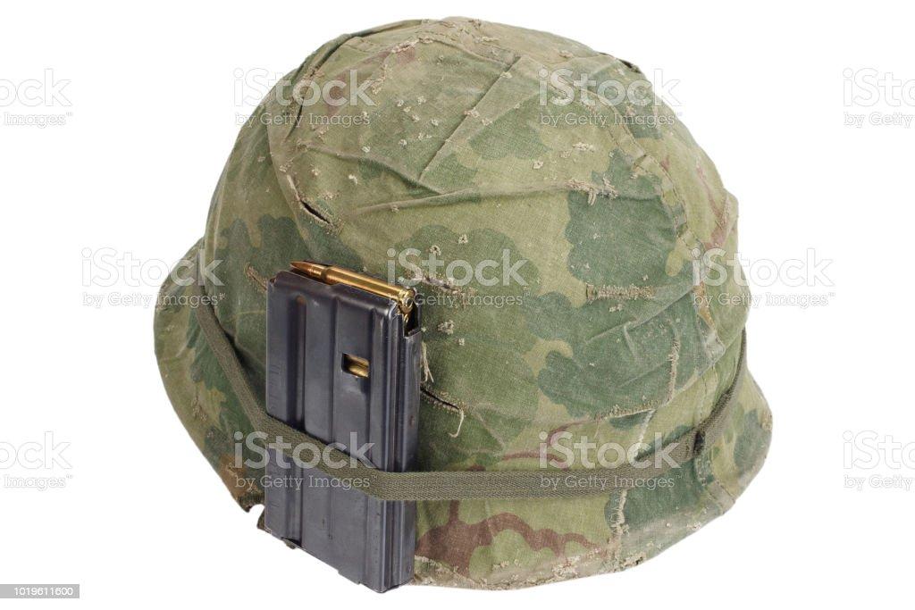 2c93c72c Us Army Helmet Vietnam War Period 19641974 Stock Photo - Download ...