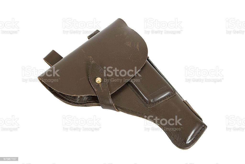 Army holster royalty-free stock photo