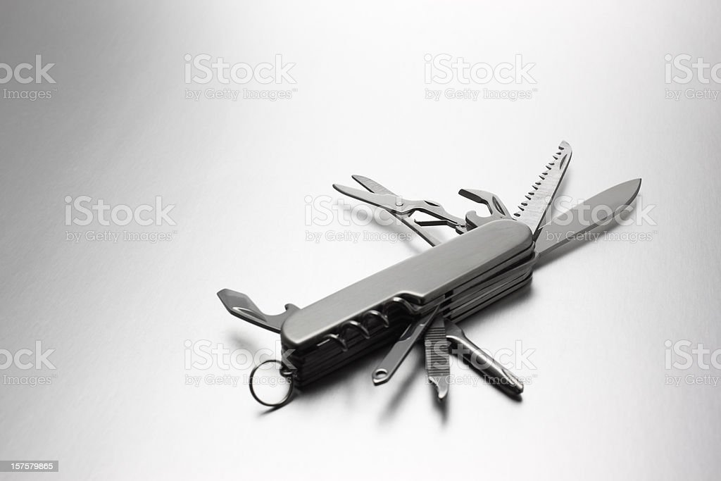 Army Knife stock photo