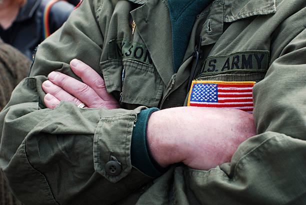 army man stock photo