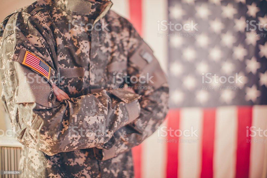 Армейский человек стоковое фото