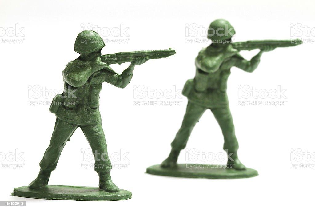 Army Men stock photo