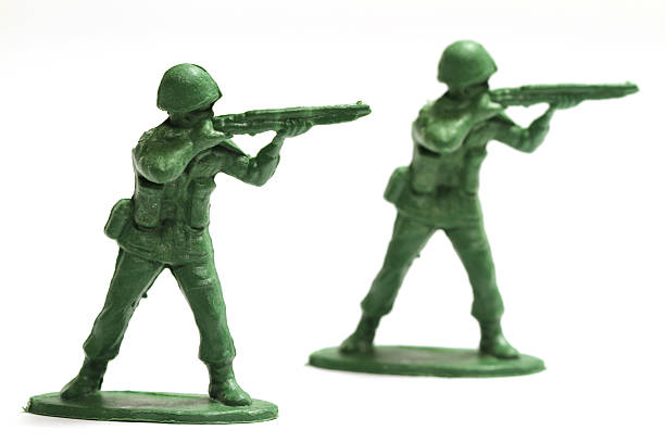 Army Men stock photo