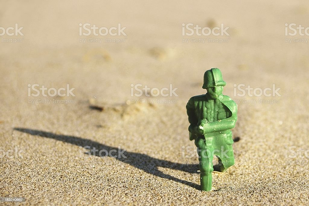 Army of One stock photo