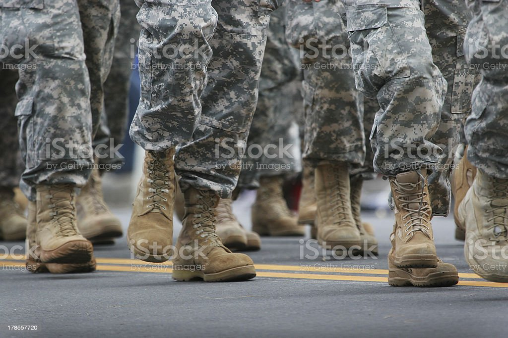 Army Parade stock photo