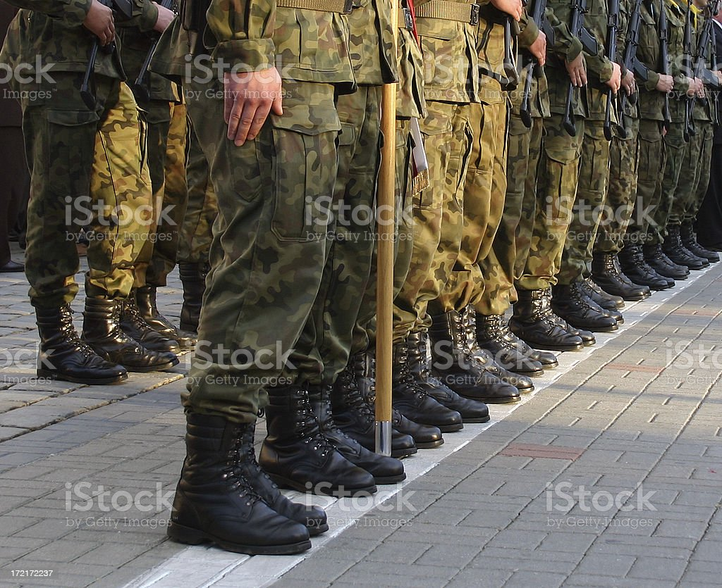 Army royalty-free stock photo