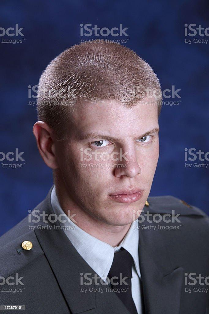 Army ROTC royalty-free stock photo