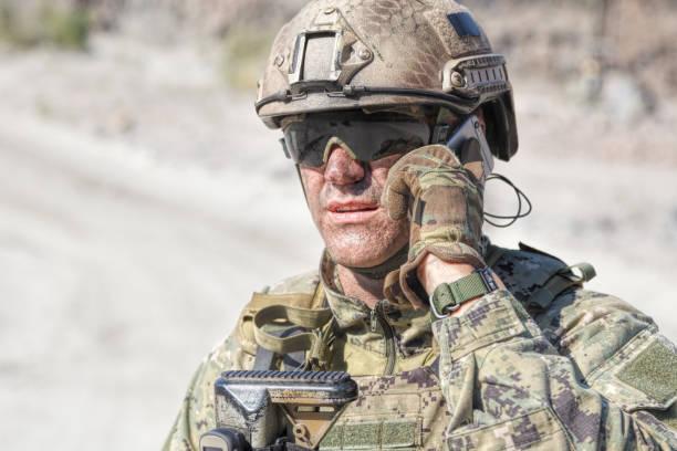 Armee Soldat aufrufen – Foto