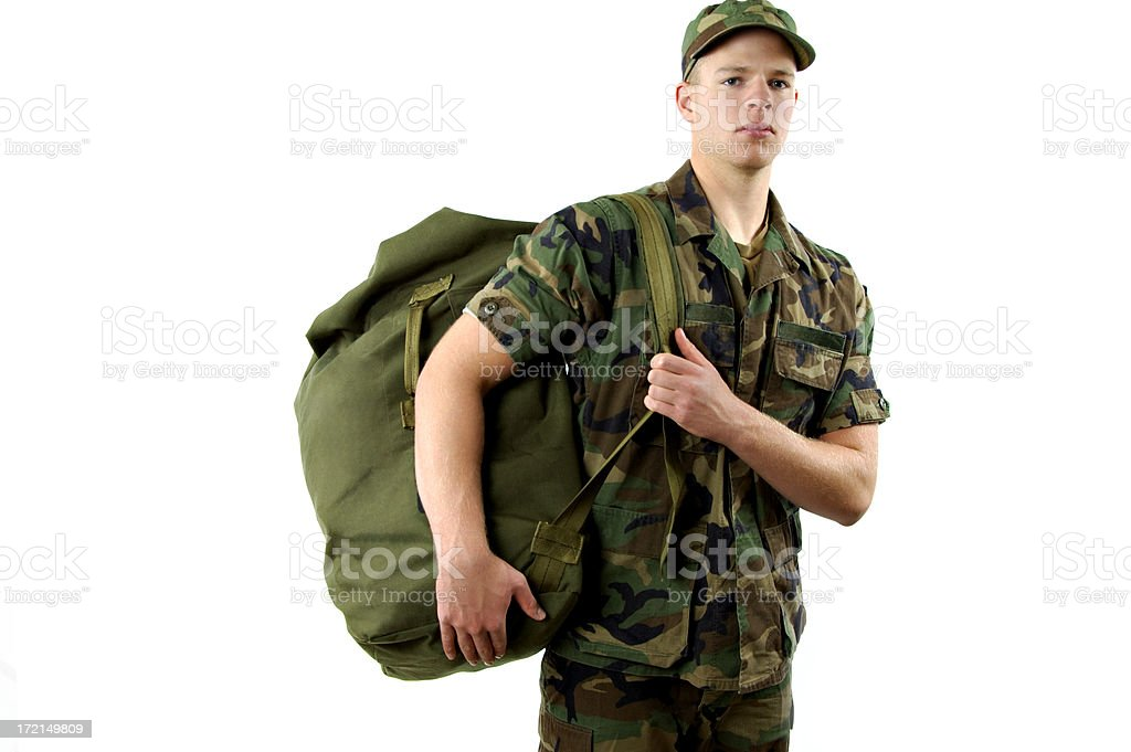 Army Soldier royalty-free stock photo