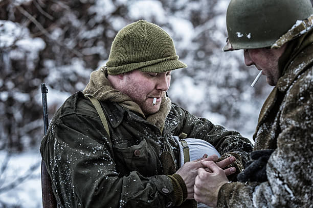 Best Military Winter Hat Stock Photos, Pictures & Royalty