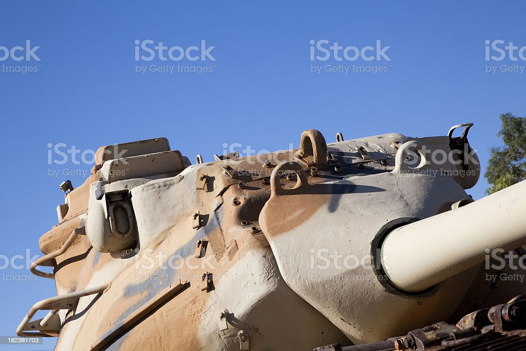 US Army Tank Designed for Desert Warfare During WWII royalty-free stock photo