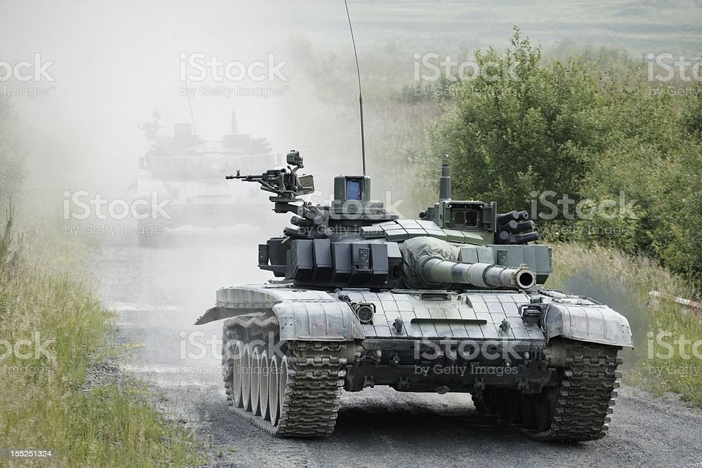 Army tank royalty-free stock photo
