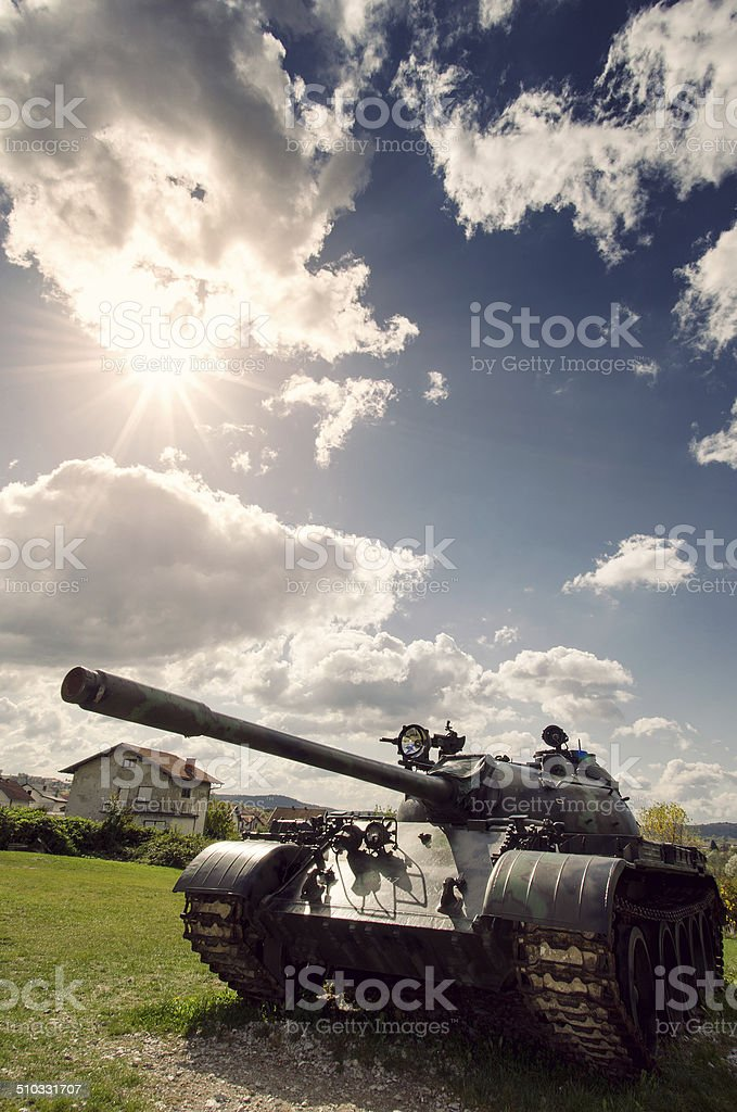 army tank stock photo