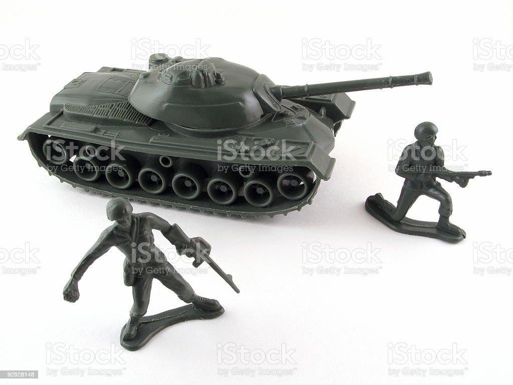Army Toys royalty-free stock photo