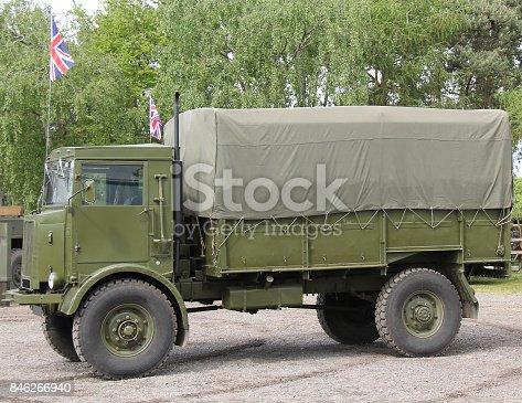 istock Army Transport Lorry. 846266940