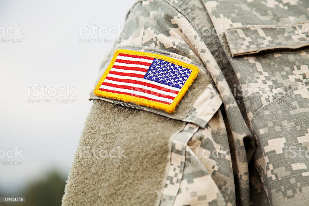U S Army Uniform royalty-free stock photo