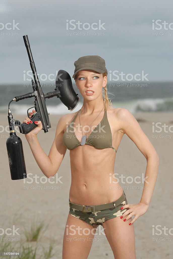 army_girl royalty-free stock photo