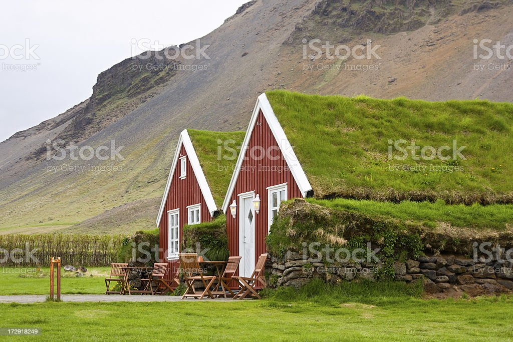 Arnastapi, Iceland stock photo