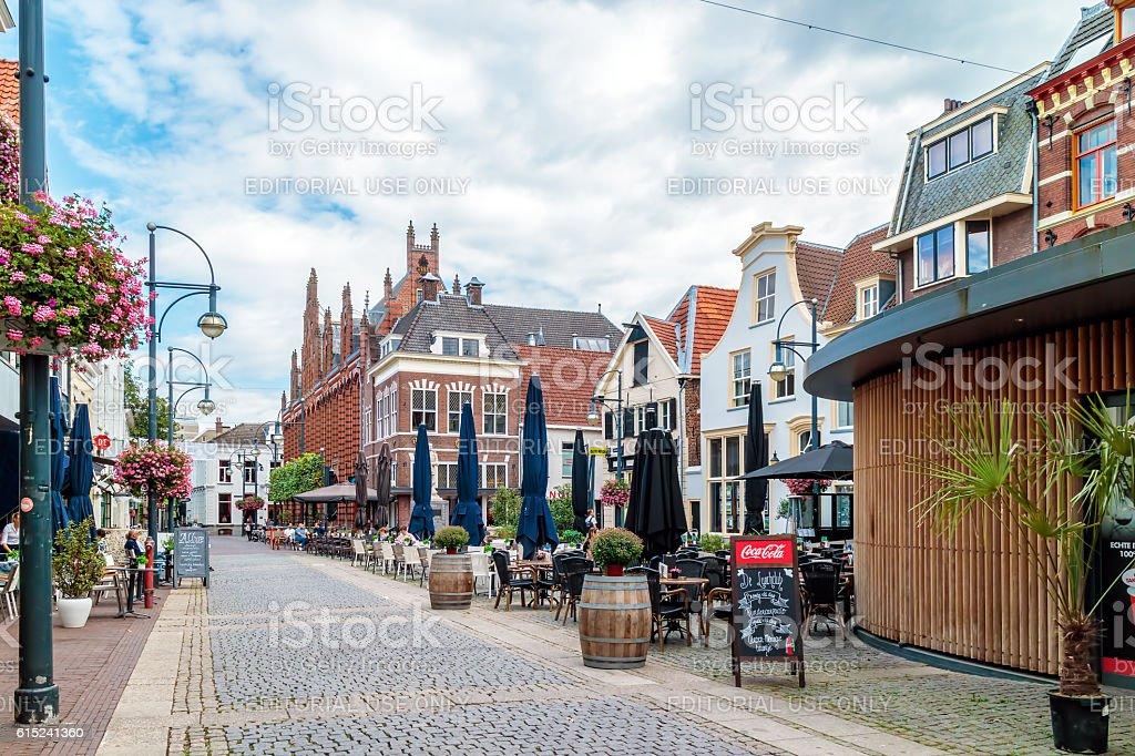 Arnhem city center with shops, bars and restaurants foto