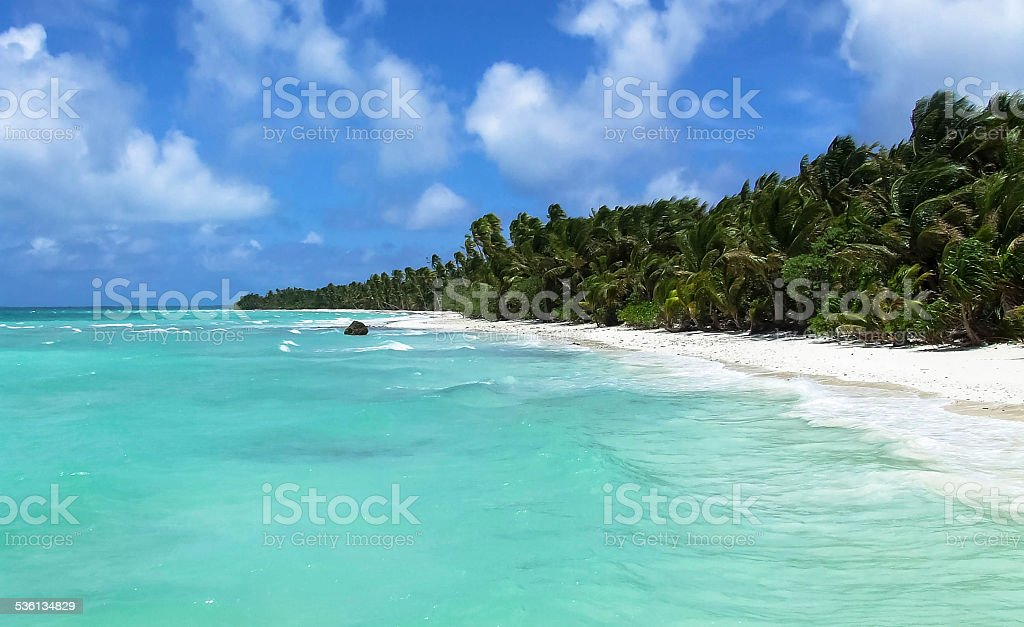 Arno Atoll stock photo