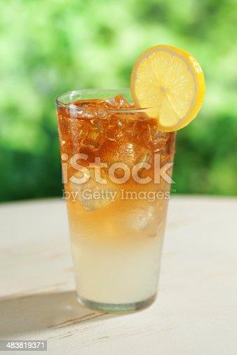 Half iced tea and half lemonade (aka an