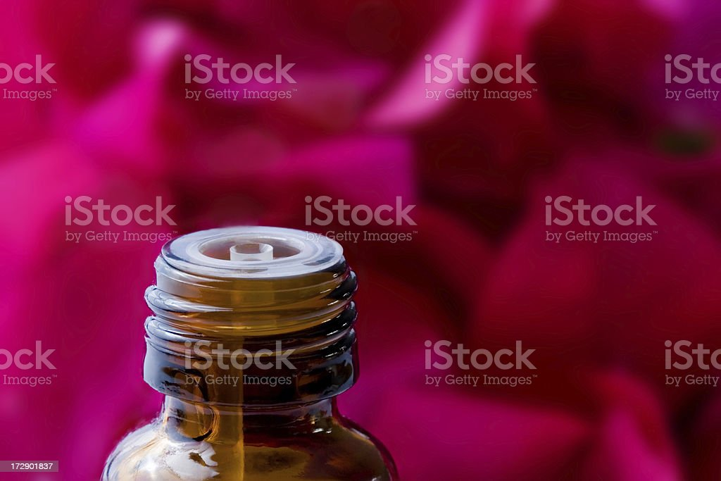 Aromatherapy and flowers royalty-free stock photo