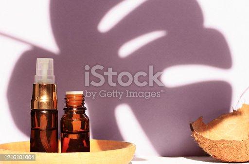 Relaxing natural skincare calming spa