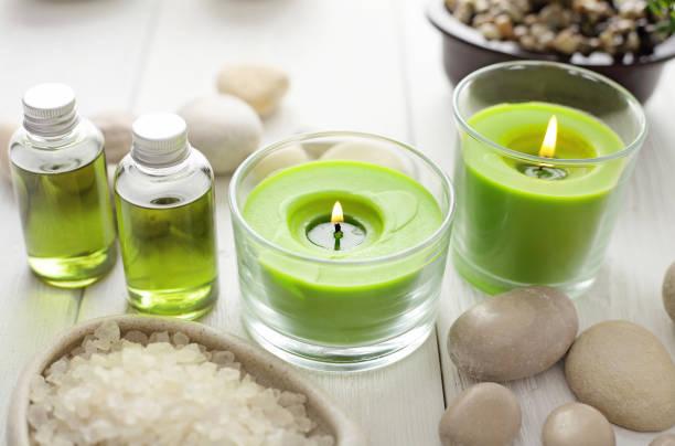 Aromatherapie-Kerze – Foto