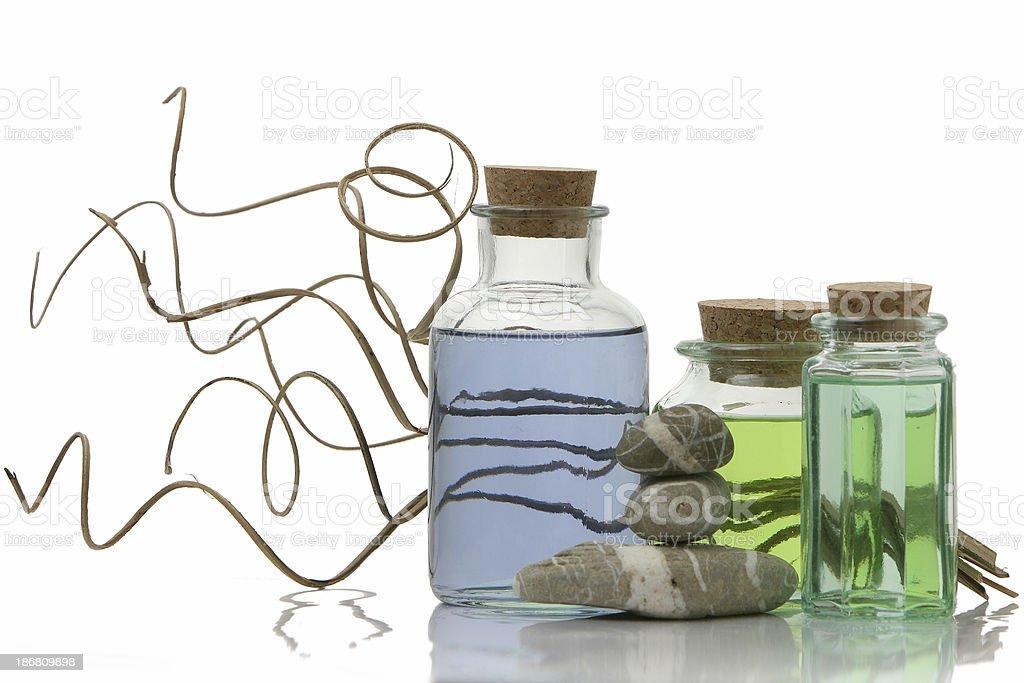 Aromatherapy isolated royalty-free stock photo